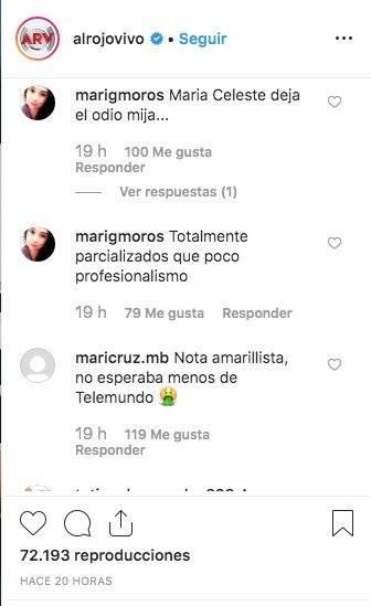 Comentarios María Celeste Arrarás