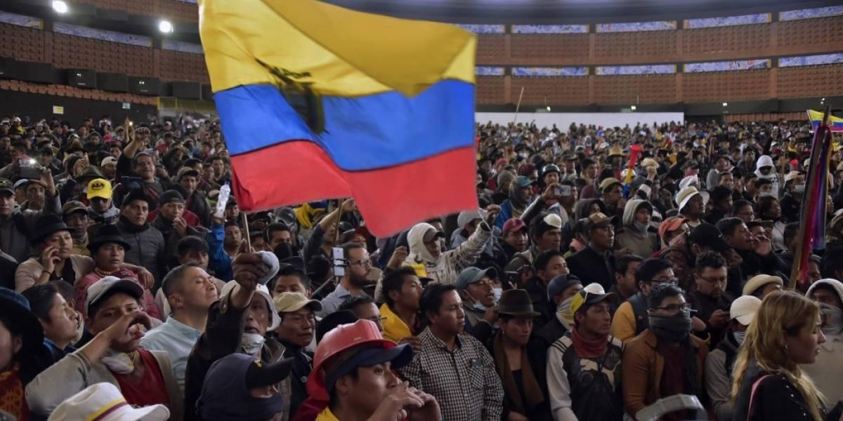 """Conaie rechaza diálogo y llama a """"radicalizar acciones"""" en Ecuador"""