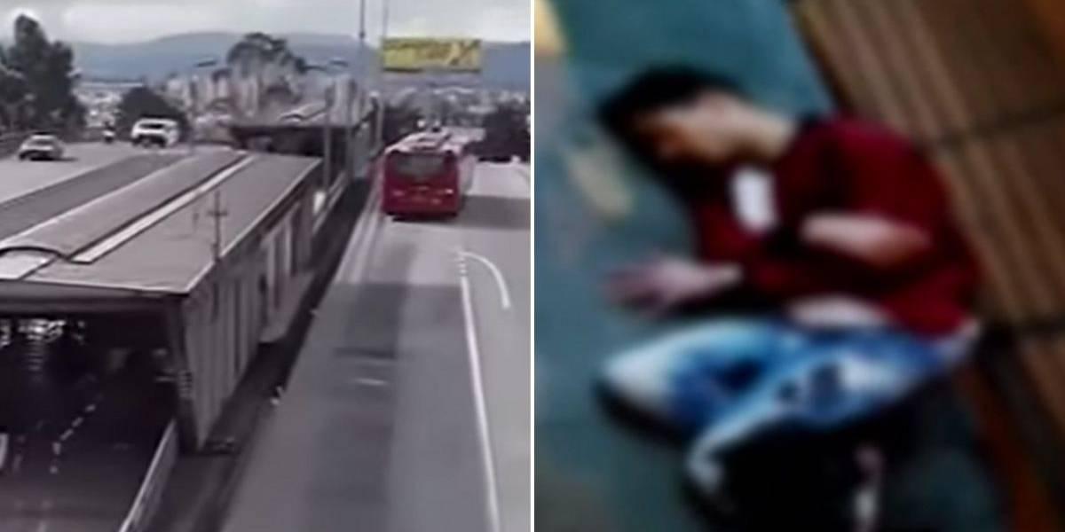 Entre la vida y la muerte se debate joven apuñalado por robarle el celular en Bogotá