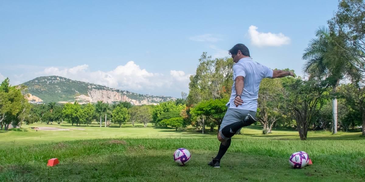 Presentan torneo de Footgolf: Acapulco Open 2019