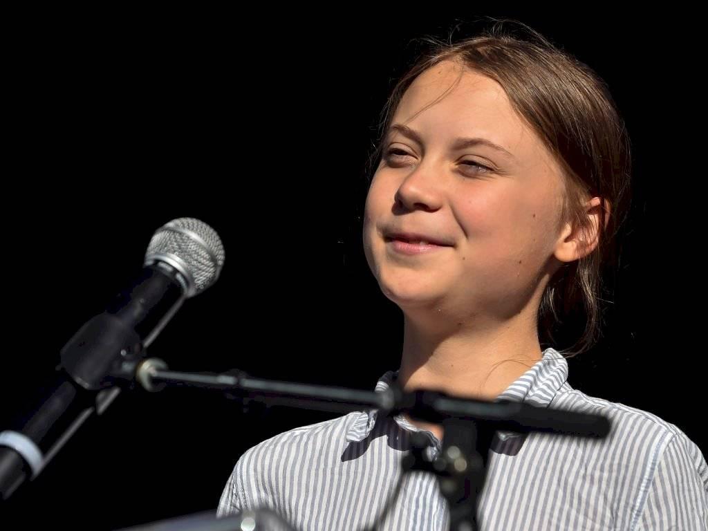 Greta Thunberg, joven activista climática, quien inició el movimiento #FridaysForTheFuture