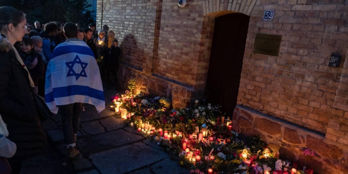 Autor de ataque planeaba 'masacre' de judíos en Alemania