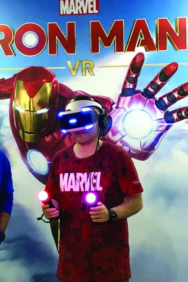 Iron Man VR na BGS 2019