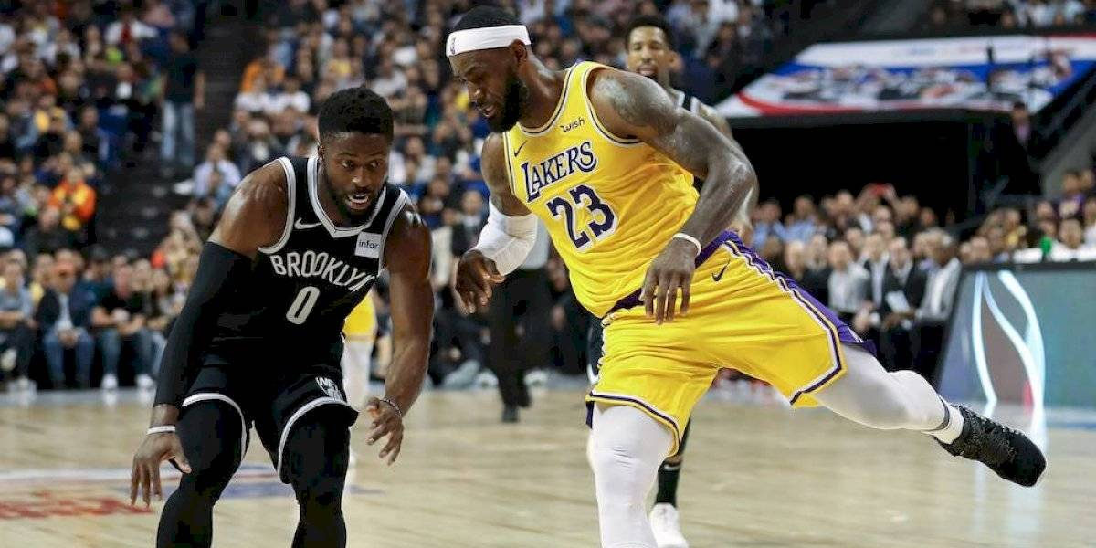 China cancela actividades con prensa tras juego entre Lakers y Nets