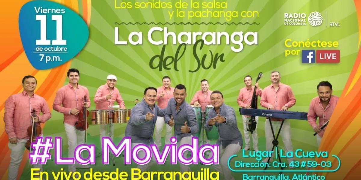 La Movida de Radio Nacional se toma La Cueva en Barranquilla