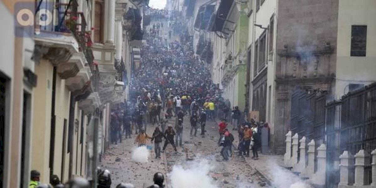 María Paula Romo brindó un reporte de detenidos, ataques y fallecidos en manifestaciones
