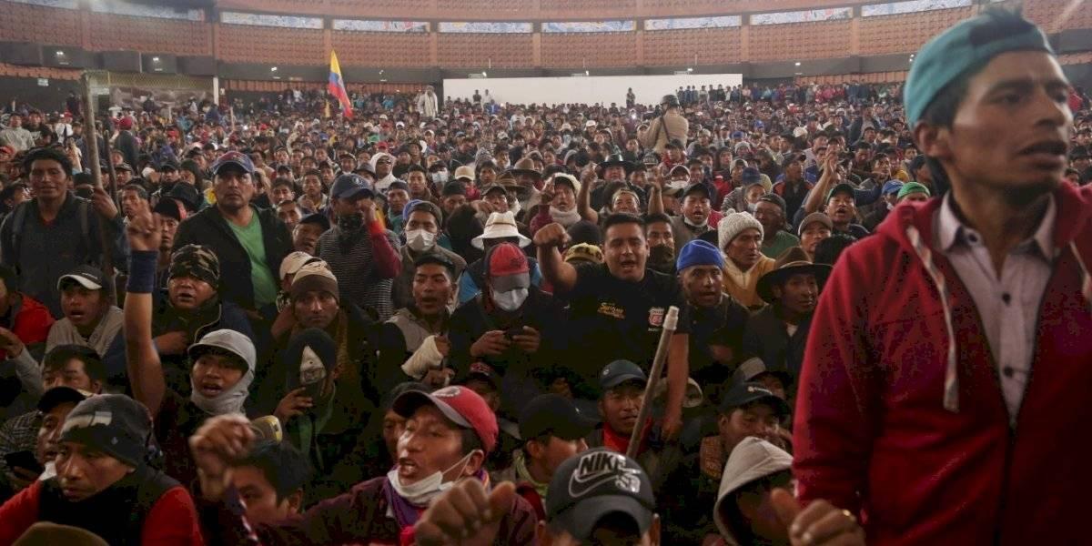 Familiares de dirigente indígena fallecido, se pronunciaron