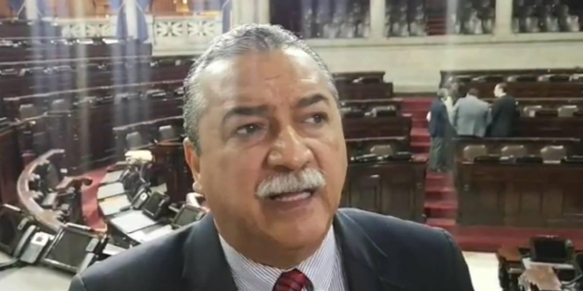 Diputado Manuel Conde anuncia que están trabajando en nueva Comisión investigadora de la Cicig