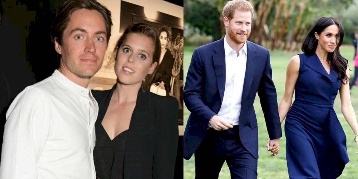 Meghan Markle y el príncipe Harry estarían vetados de la boda de la princesa Beatriz por una controvertida razón