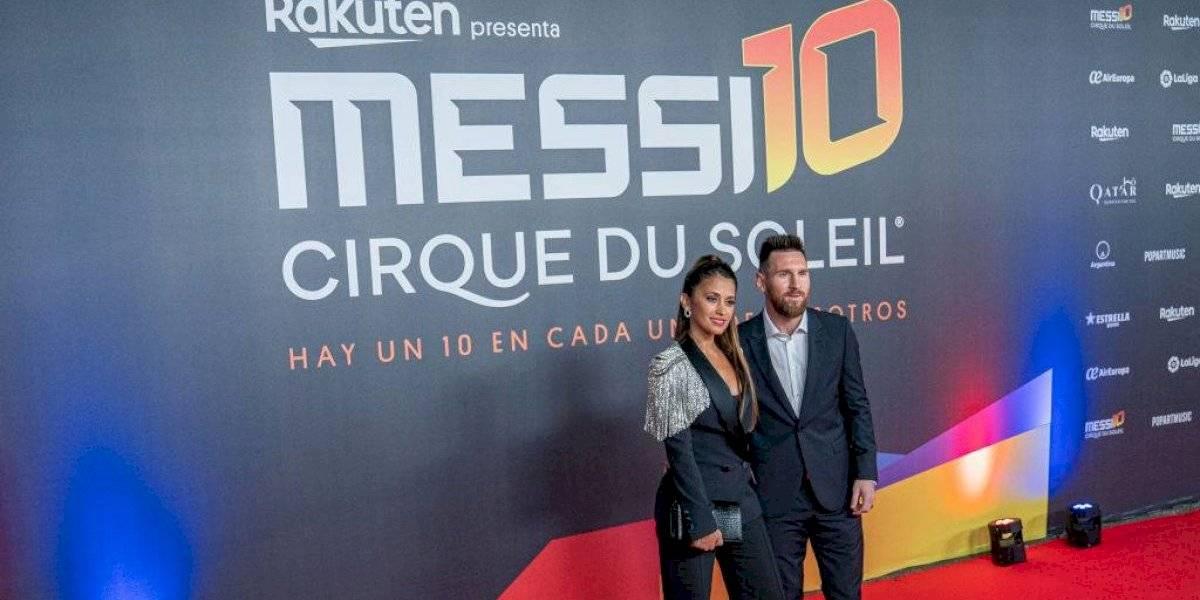 Se estrena el espectáculo '10 Messi by Cirque du Soleil'