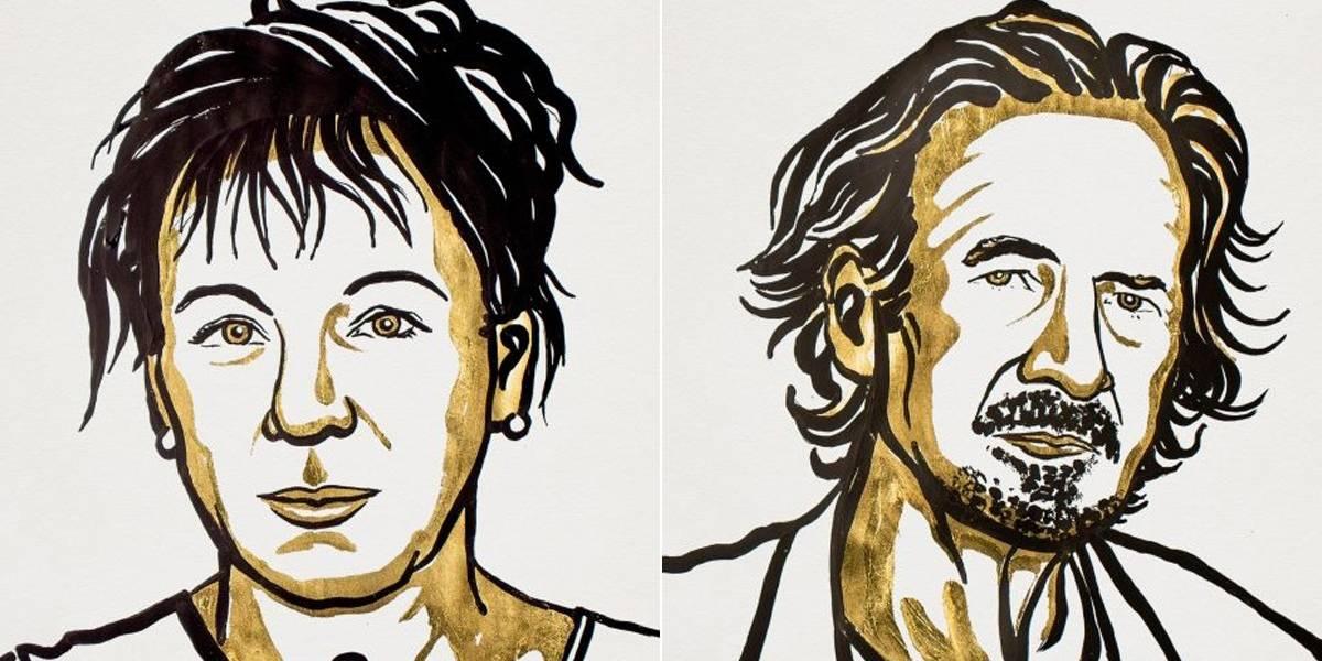 Olga Tokarczuk e Peter Handke ganham o Prêmio Nobel de Literatura de 2018 e 2019