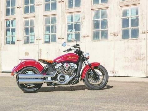 Indian Scout 100th Anniversary es una motocicleta de colección.