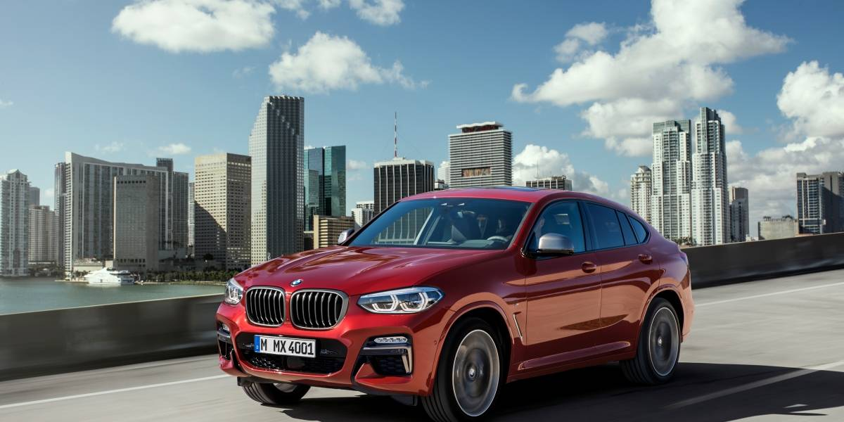 BMW X4: la SUV familiar hecha coupé