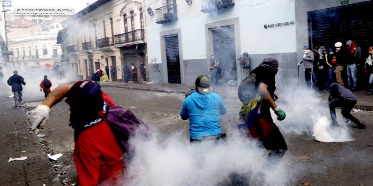Paro en Ecuador: 60 días para recuperar los daños en el Centro Histórico de Quito