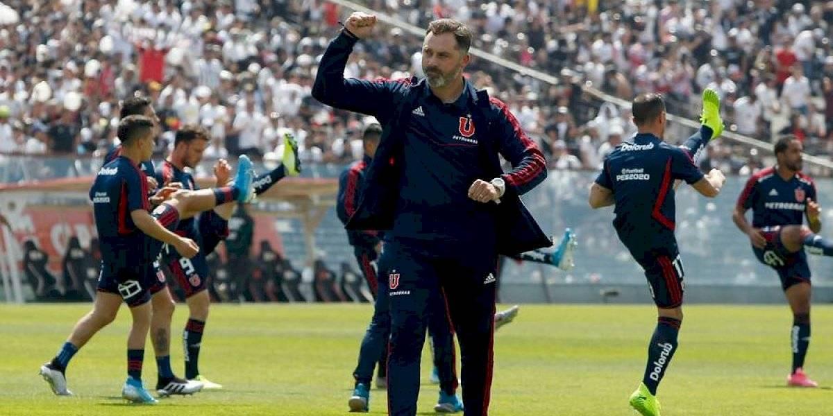 """Caputto recibió consejos de Pellegrini para intentar salvar a la U del descenso: """"Me ha dado ciertos tips"""""""