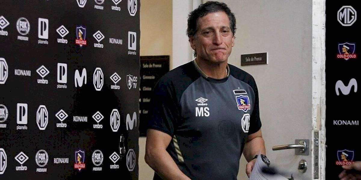 """Mario Salas se proyecta en Colo Colo: """"No puedo estar en un lugar mejor que acá, estoy donde siempre quise estar"""""""