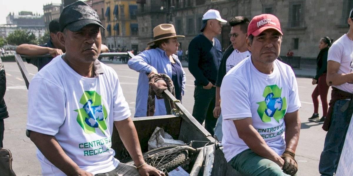 Recolectores protestan contra privatización en recolección de basura