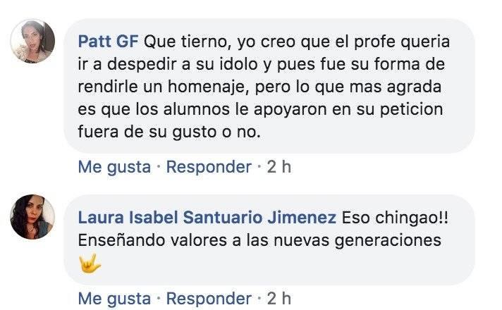 Comentario de Facebook