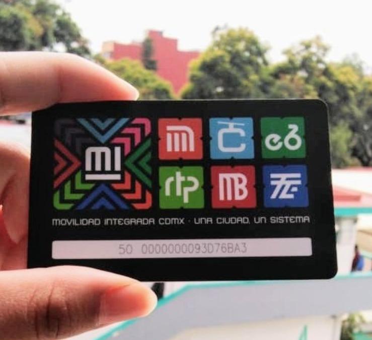 México tarjeta CDMX