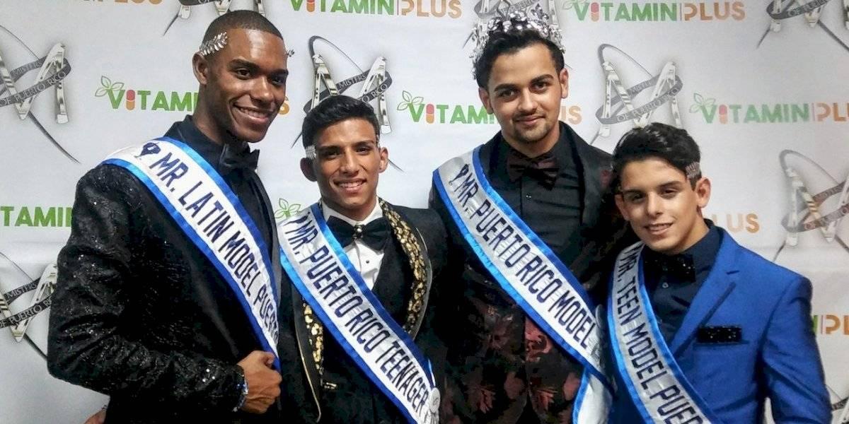 Presentan los ganadores de Misters of Puerto Rico 2019