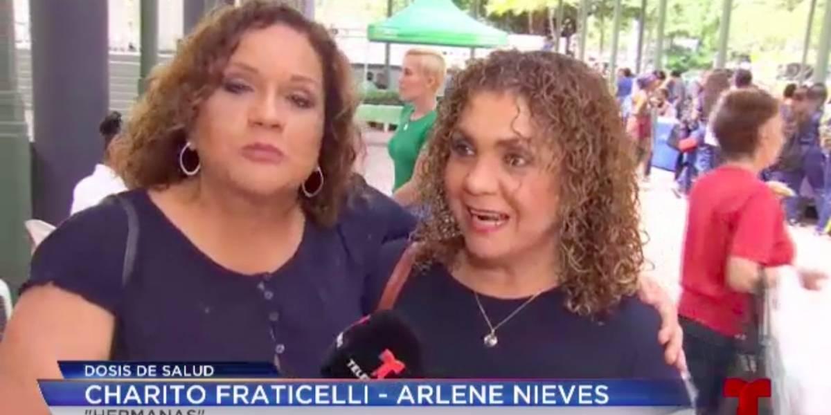 """Charito Fraticelli dice haber encontrado a su """"clon"""""""