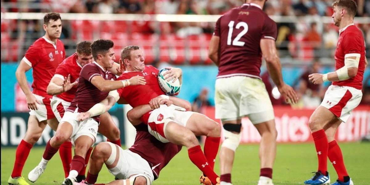 Tifón Hagibis obliga a cancelar partidos en el Mundial de Rugby
