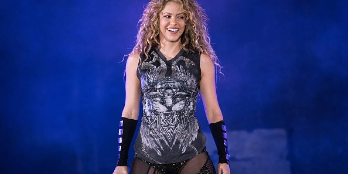 ¡Impensable! Filtran foto privada de Shakira