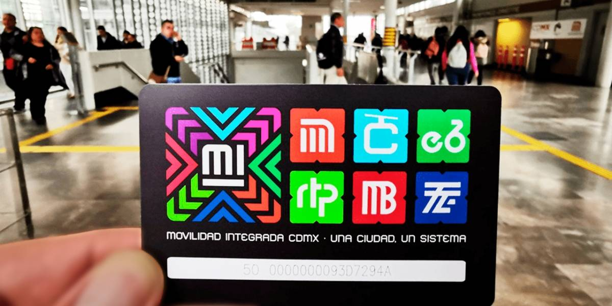 México estrena nueva tarjeta que incluye a todos los transportes de la CDMX