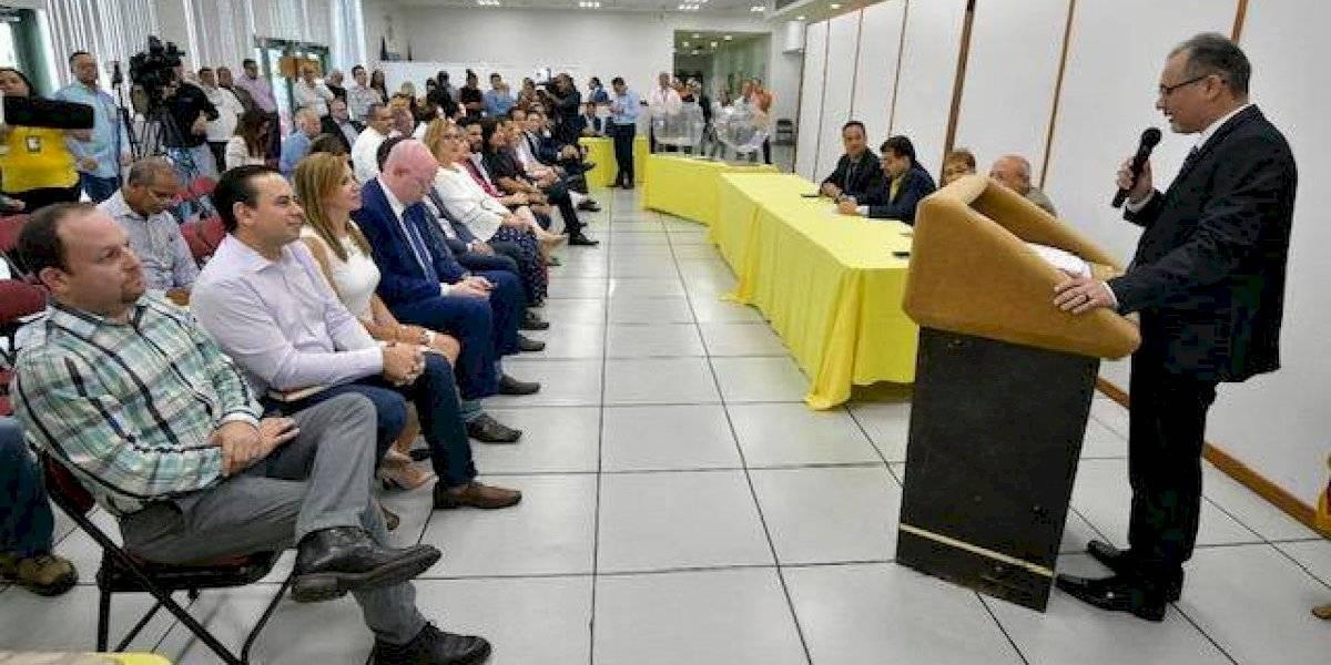 Realizan sorteo de posiciones PNP para elecciones del 10 de noviembre