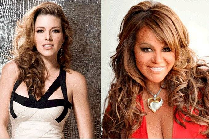 Alicia Machado y Jenni Rivera