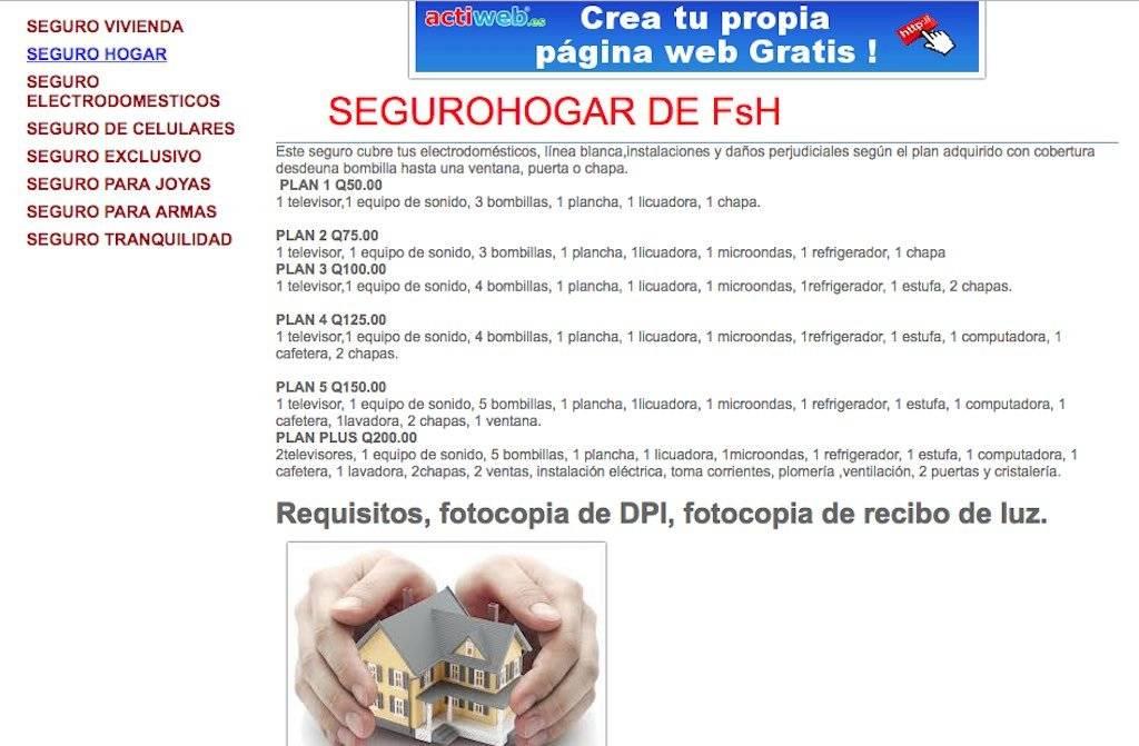 Aseguradora ofrecía servicios sin autorización. Foto: Internet