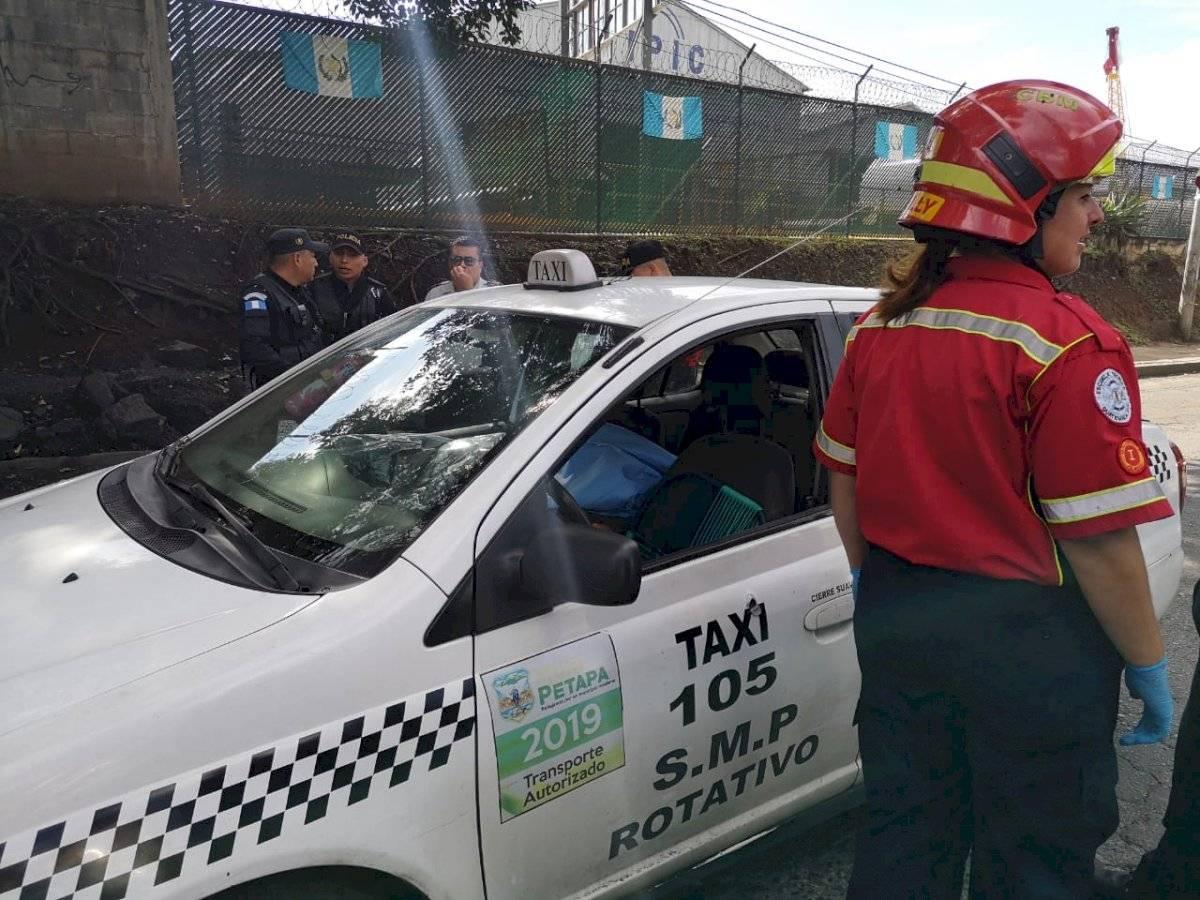 ataque armado contra taxi en zona 12