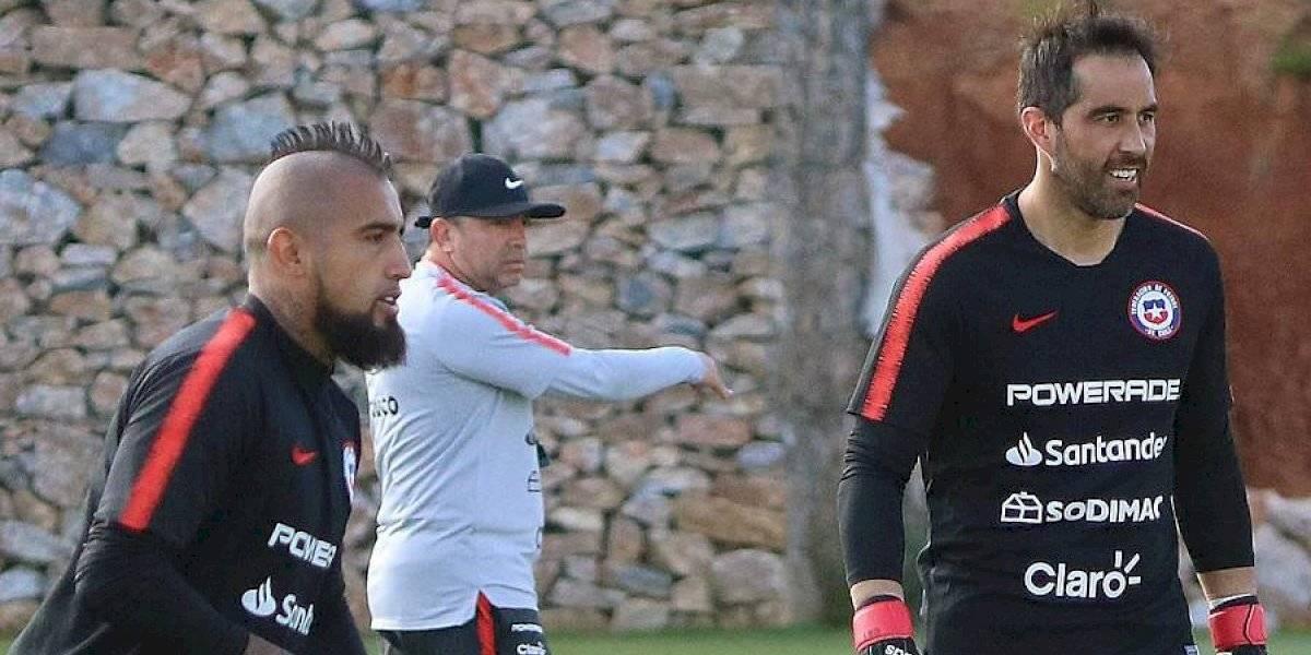 Con Bravo y Vidal juntos por primera vez en la era Rueda: La formación de la Roja para el amistoso con Colombia