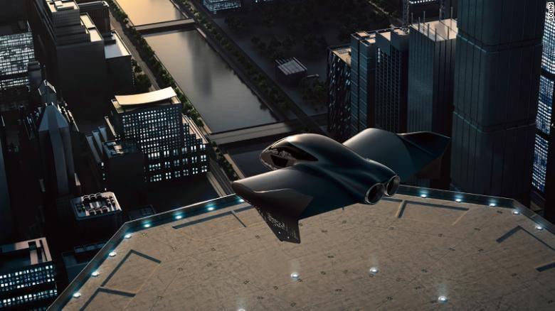 Van en serio: Porsche y Boeing se unen para crear autos voladores