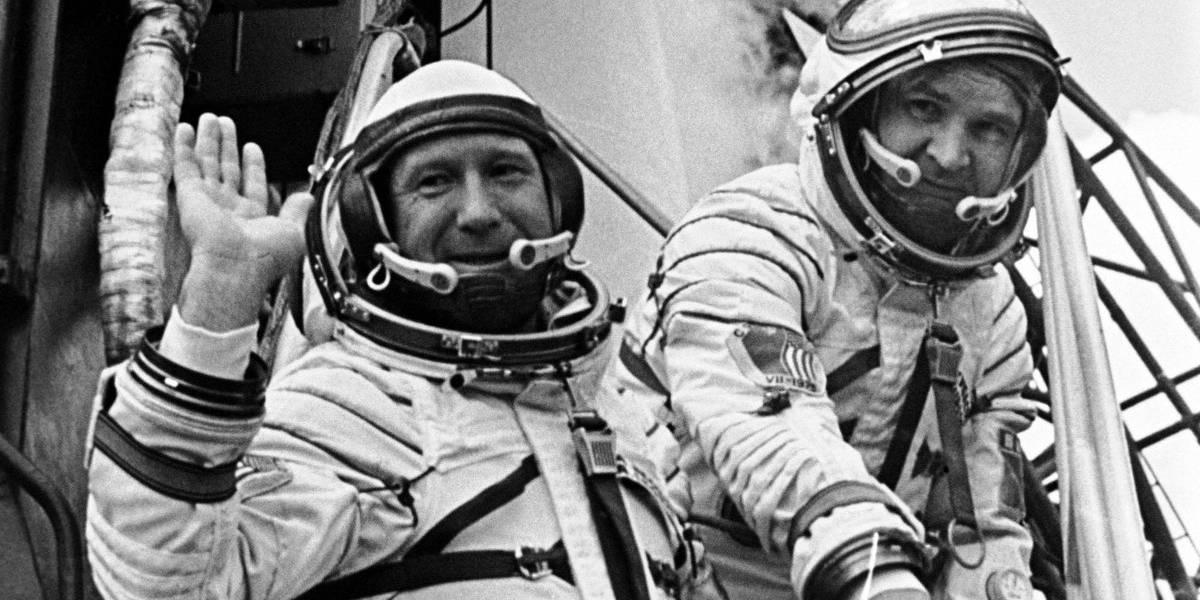 El primer cosmonauta en caminar en el espacio falleció a los 85 años