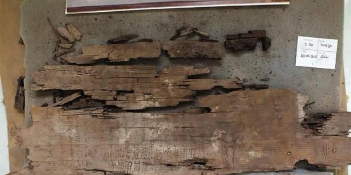 Egipto: hallan un mapa sobre el inframundo de 4.000 años de antigüedad