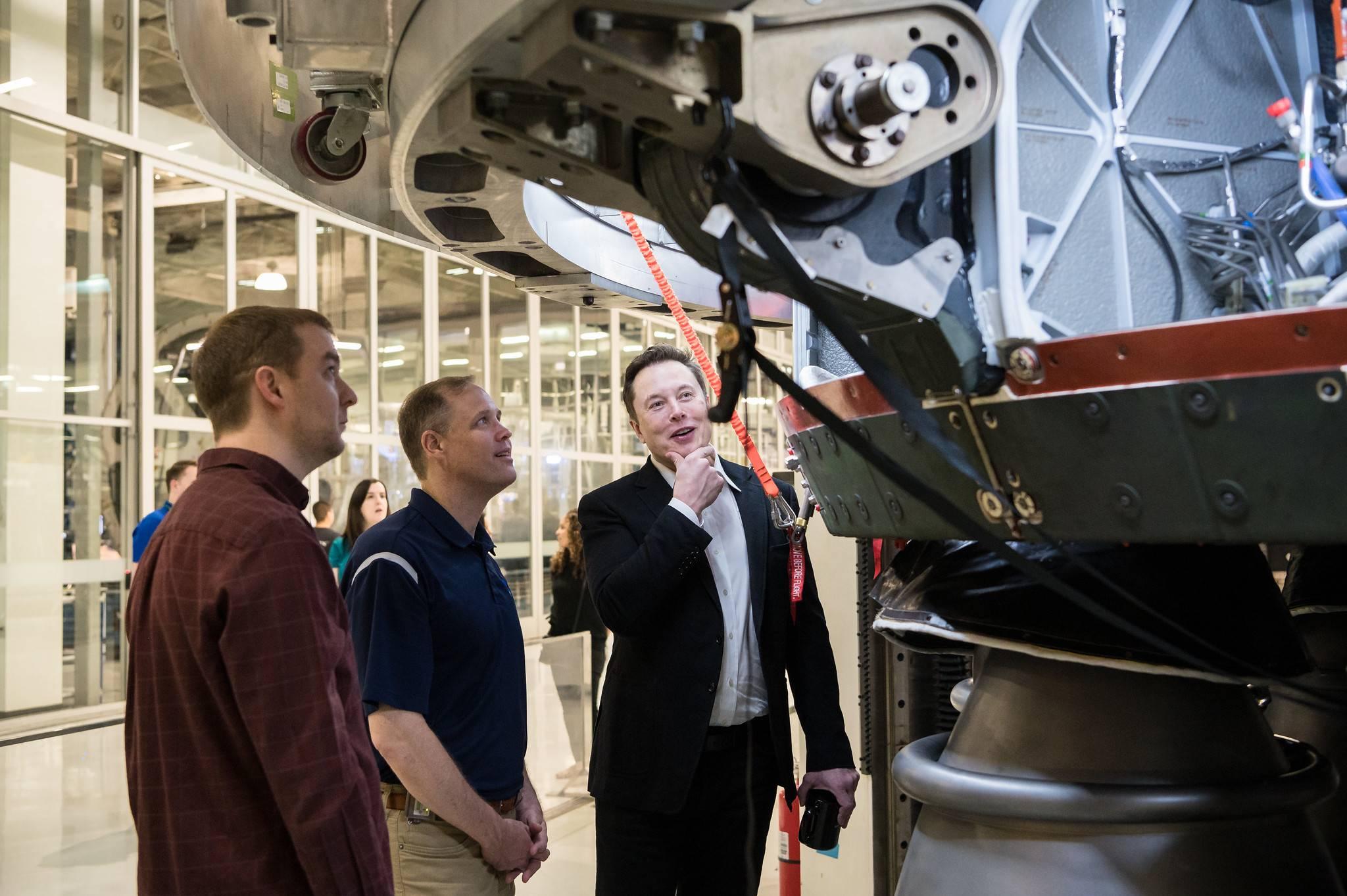 Elon Musk: la NASA puede compartir la IP de Space X con cualquier persona