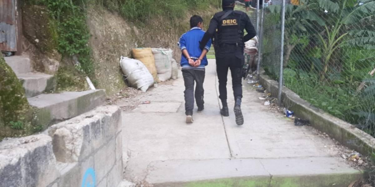 Autoridades atacan a grupos criminales que operan en la zona 7 capitalina