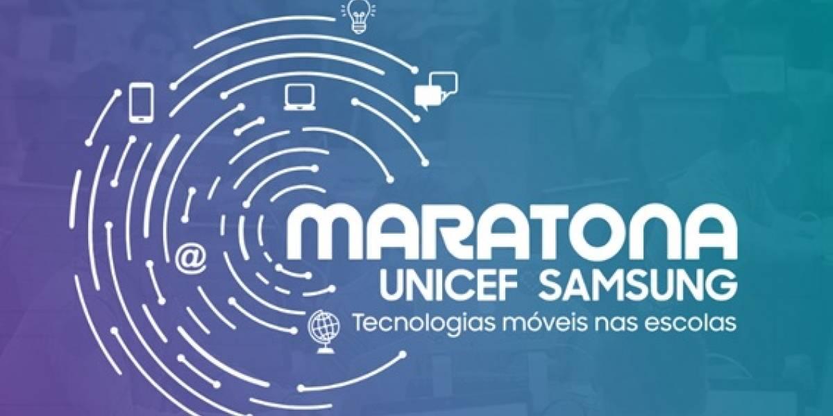 Maratona UNICEF Samsung: saiba como se inscrever