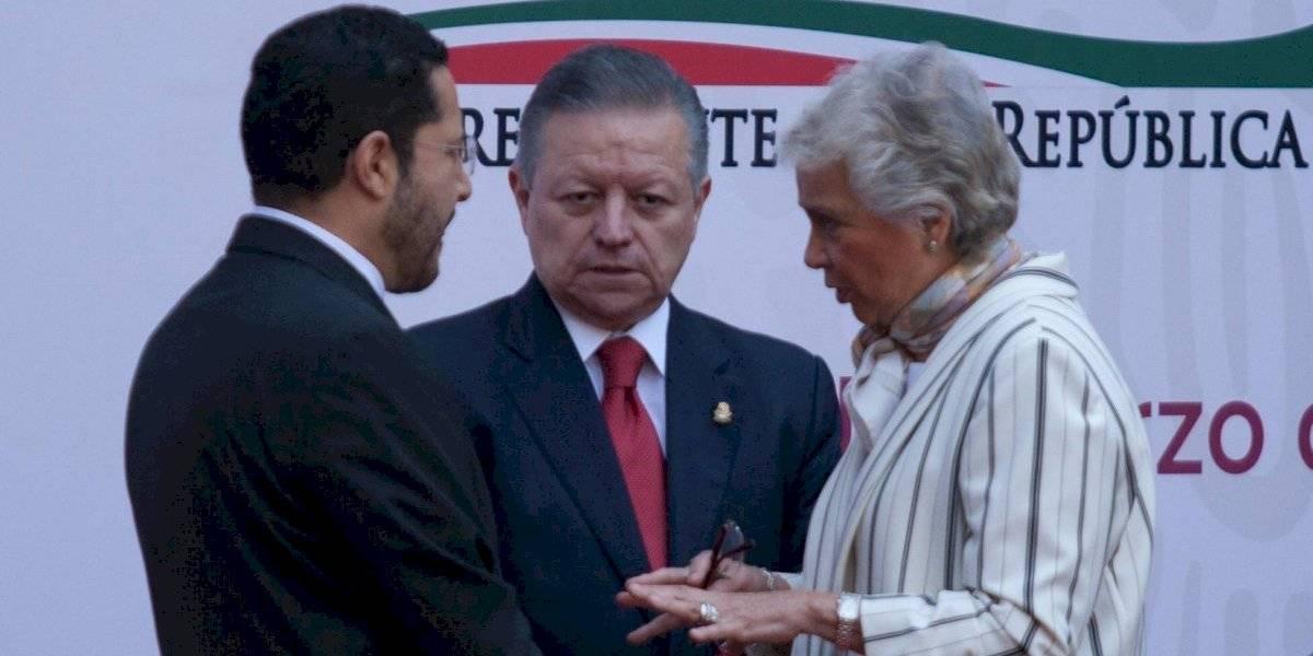 Sánchez Cordero comparte dichos de ministro Zaldívar contra Calderón