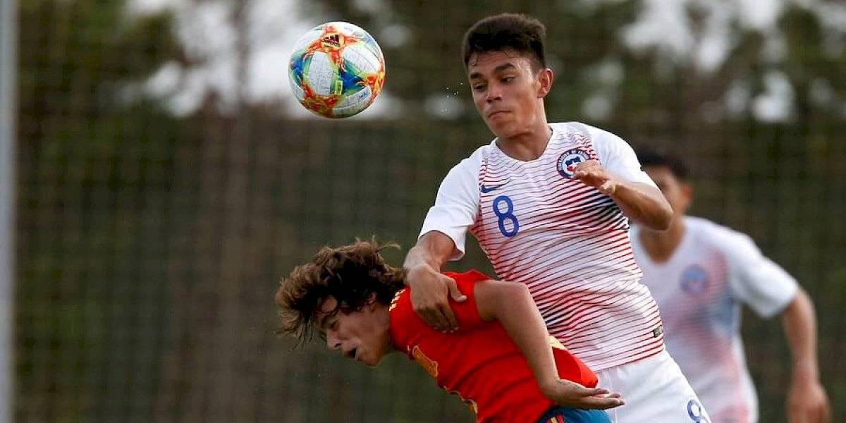 La Roja Sub 17 cerró su gira europea con una agónica derrota ante España