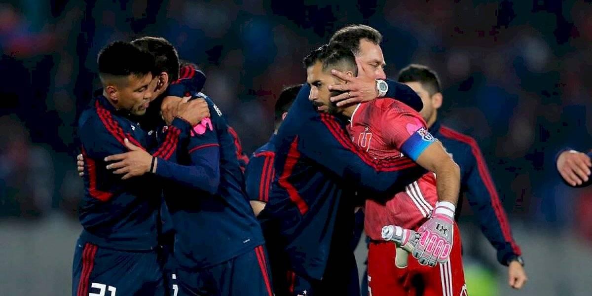 """Herrera emocionado tras triunfo sobre Cobresal: """"Jugar en la U es difícil, pero hay que estar, y si es en la cancha mejor"""""""