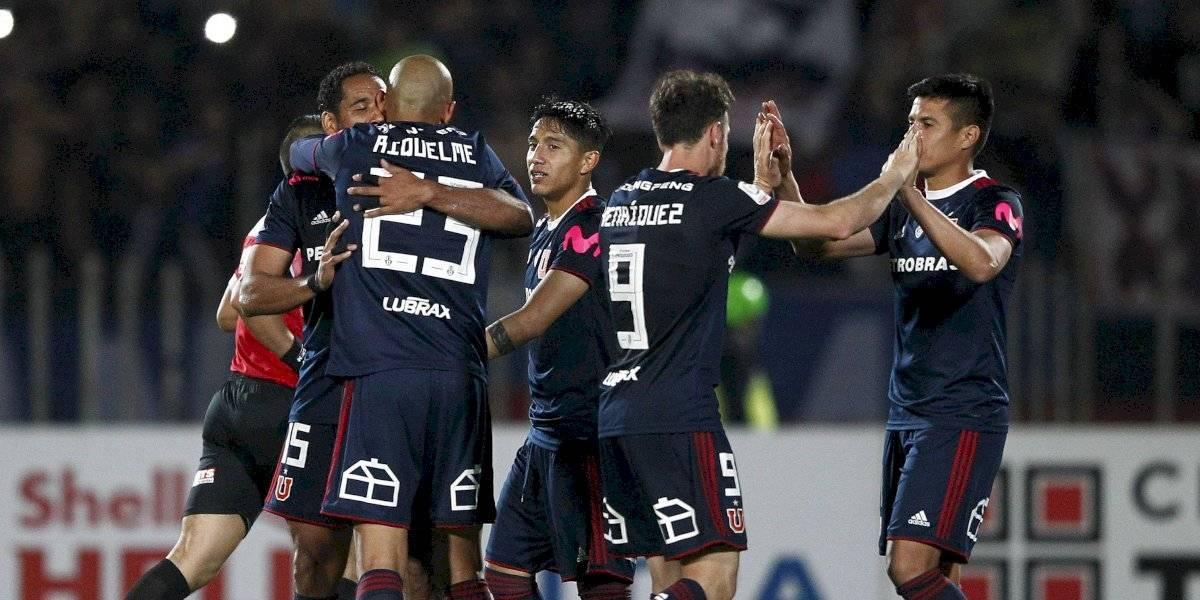 La U corta una racha de más de dos meses sin ganar entre Copa Chile y el Campeonato