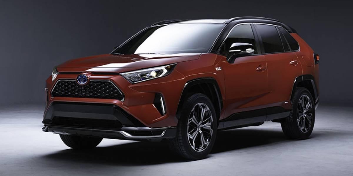 Toyota RAV4 híbrida enchufable será presentada en Los Ángeles