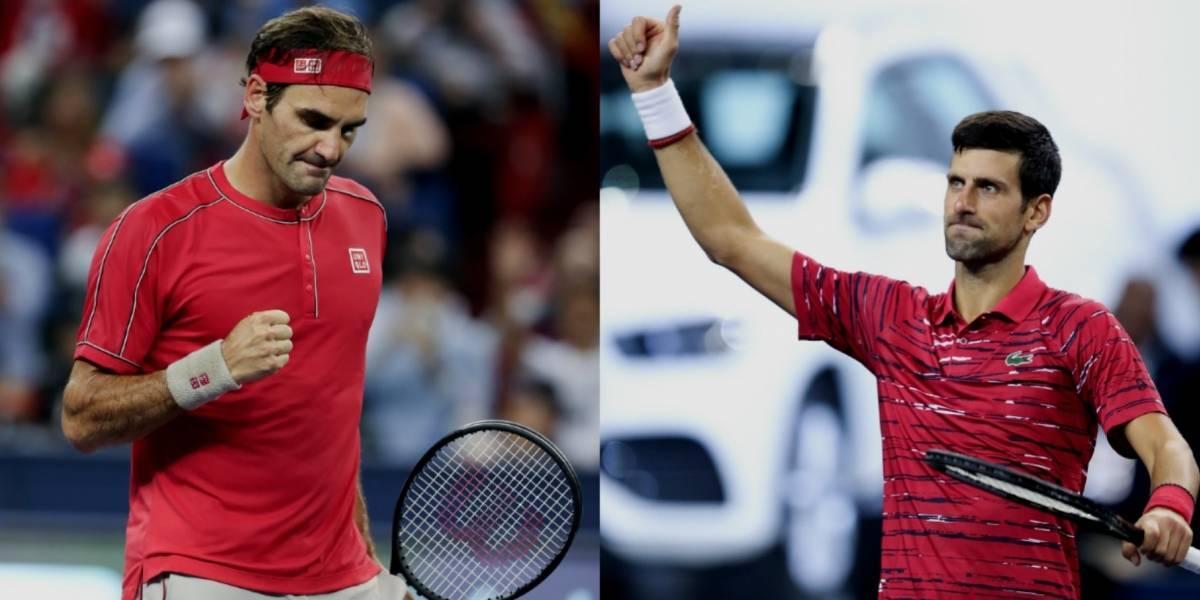 Federer y Djokovic son eliminados del Masters 1000 de Shanghai