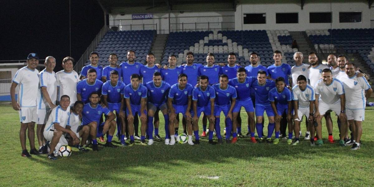 Guatemala por el ascenso a la Liga de Naciones Concacaf