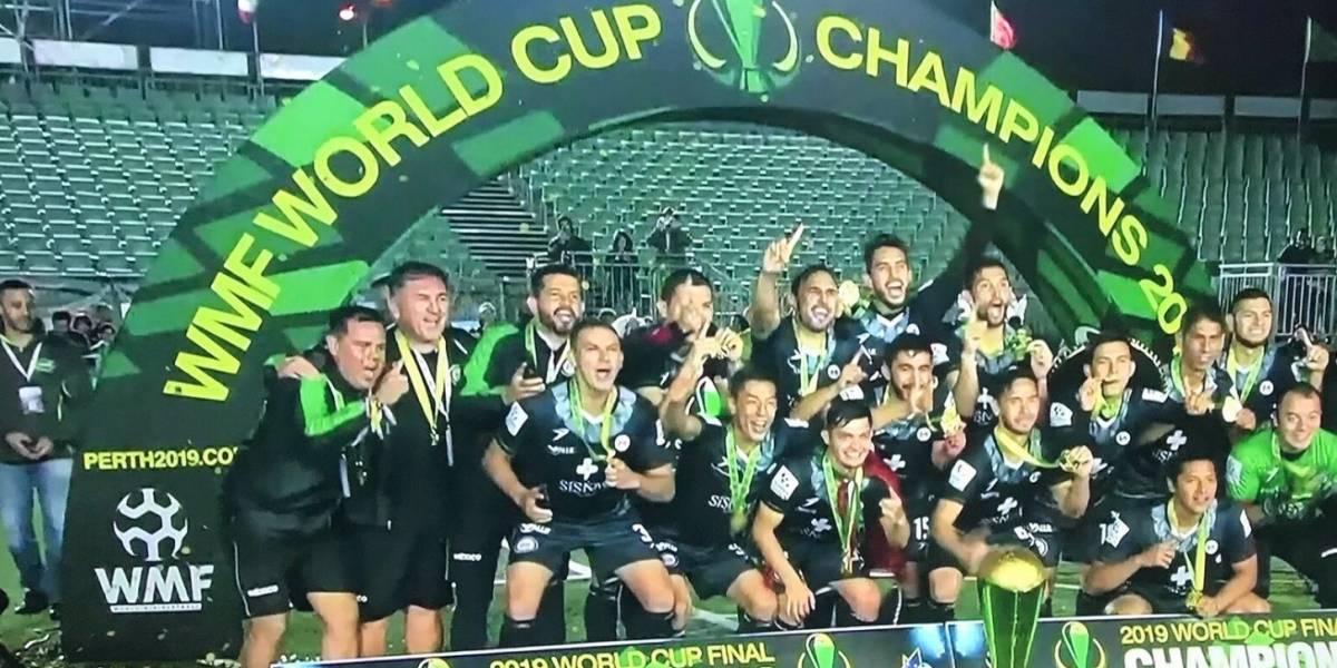 México se proclama campeón del mundo de Minifutbol
