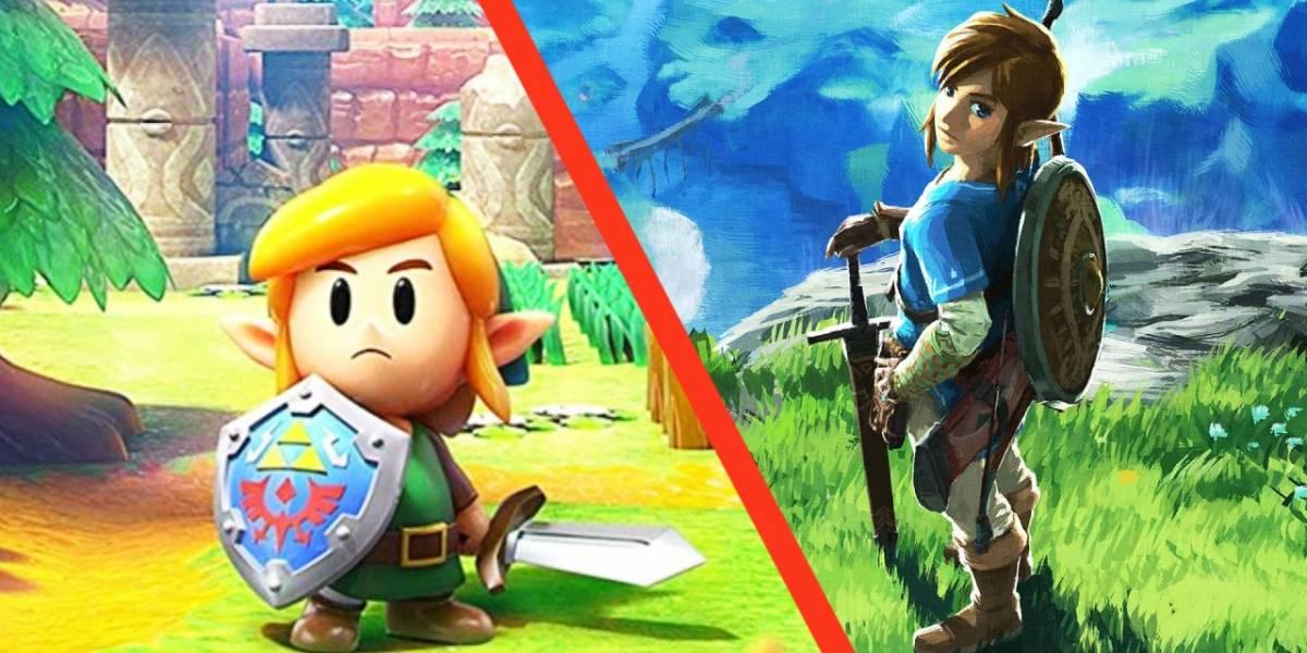 Nintendo: Así lucen los personajes de Breath of the Wild al estilo de Link's Awakening