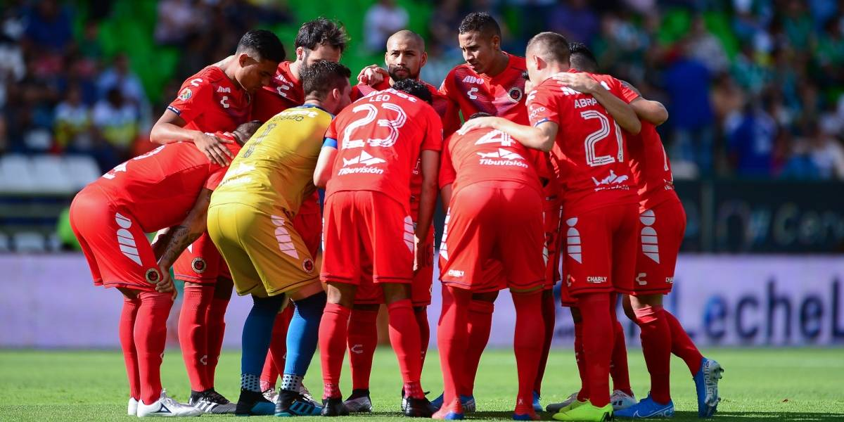 Jugadores de Veracruz planean no presentarse al juego ante Tigres