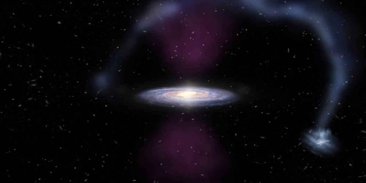 El centro de la Vía Láctea explotó hace 3.5 millones de años